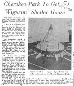 Article and photo via the Louisville Courier Journal, September 1964