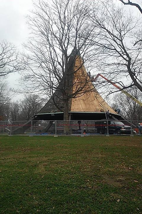 Photo Gallery Save Hogan S Fountain Teepee Pavilion