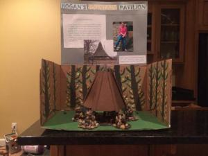 2013 Hogans Fountain Pavilion Diorama - Gracie Elder